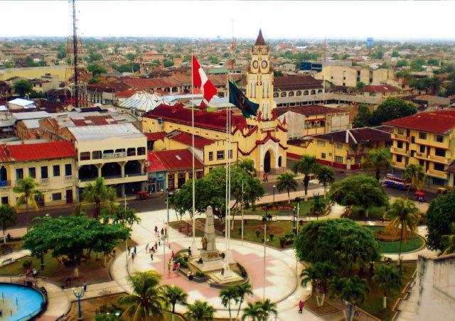 Iquitos, ciudad del río amazonas