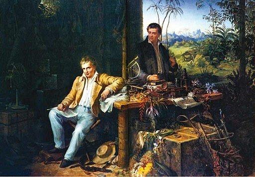 Humboldt and Bonpland en Amazonas