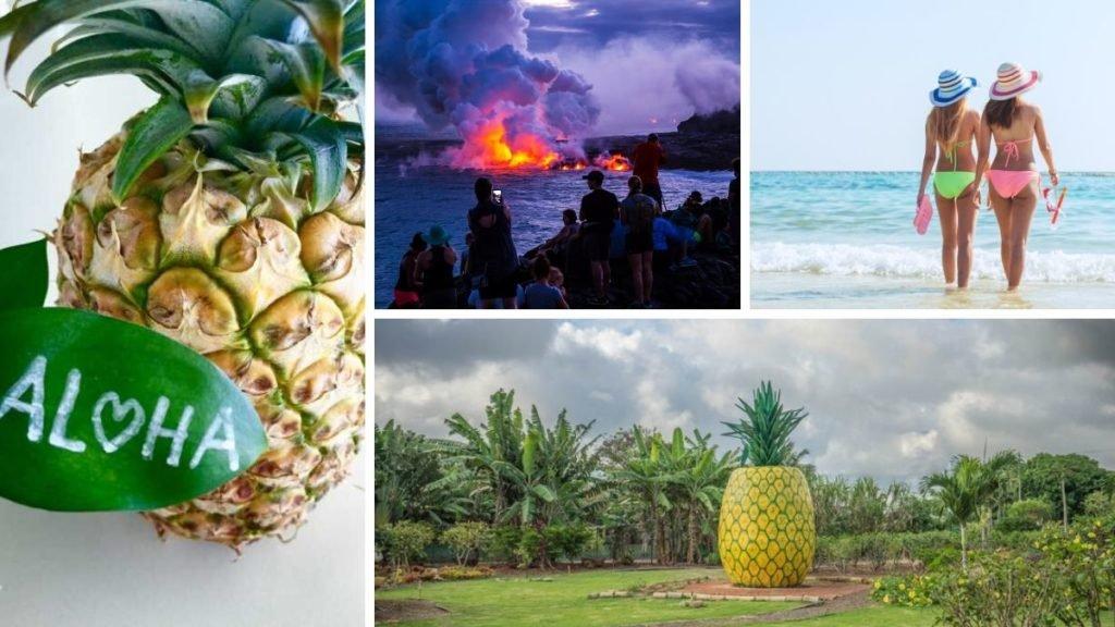 piña en hawai