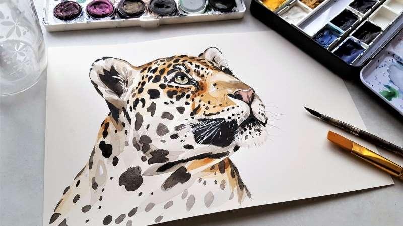 dibujo de jaguar