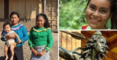 mujeres del amazonas