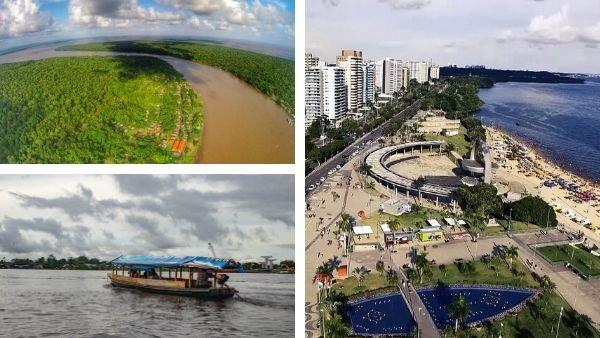 Ciudades del río Amazonas