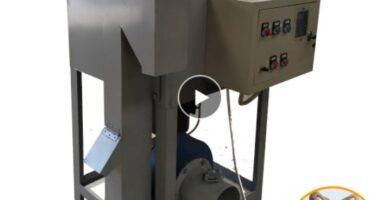 maquina descascaradora de sacha inchi