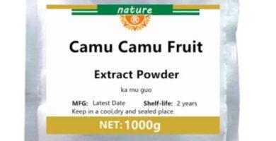 100% extracto de fruta Camu natural en polvo, fortalece el sistema inmunológico, fuerte suplemento de vitamina C antioxidantes, Anti-hepatitis, KaMuGuo