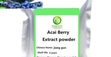 extracto de frutas de baya de Acai