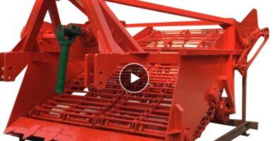 Máquina cosechadora de yuca, económica, superventas