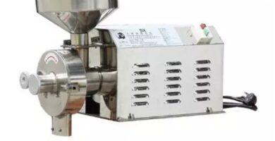 Molinillo Floru de grano de yuca eléctrico de acero inoxidable, máquina de molienda de té seco, uso doméstico