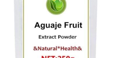 Polvo de extracto de Aguaje 20 en 1 puro y polvo de extracto de alta calidad