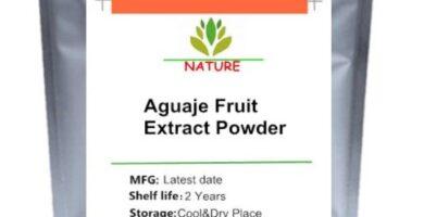 Polvo de extracto de fruta de Aguaje puro y polvo de extracto de alta calidad
