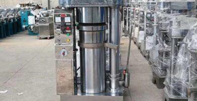 Máquina De Prensa De Aceite hidráulico, granos de cacao, nuez, sésamo, aceitunas, girasol, máquina para aceite