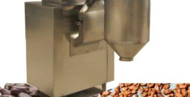 Máquina peladora de granos de cacao, fácil de operar, con alta calidad, para la eliminación de cáscara de café y cacao