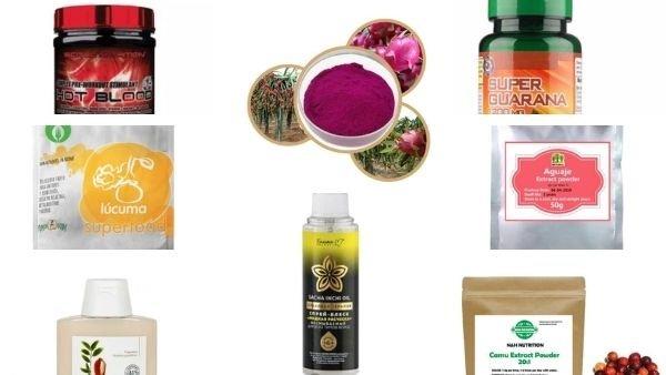 productos de la amazonía