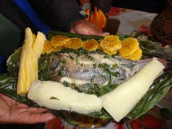 plato típico de puyo