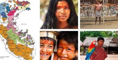 Indigenas del Amazonas peruano