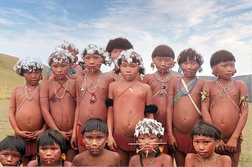 etnia yanomami del Amazonas Venezuela